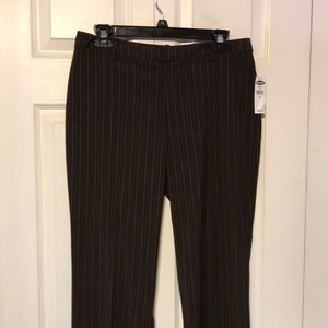 Striped pants size 8 old navy